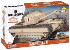 Конструктор Танк Churchill I WORLD OF TANKS COBI-3064